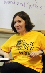 "Steph Auteri taught ""WRITE ON Nonfiction with Purpose"" in Week 2"